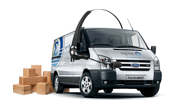 Fulfillment Ford Transit Van